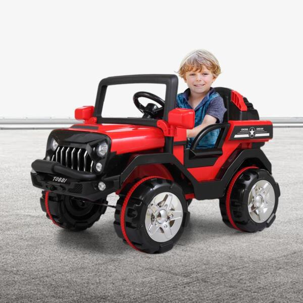 12V Powerful Kids Electric SUV, Red 12v powerful kids electric suv red 20