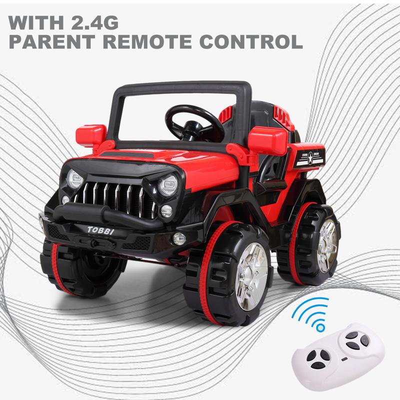 Kid's off Road Ride On Toy RC SUV 12v powerful kids electric suv red 22 1