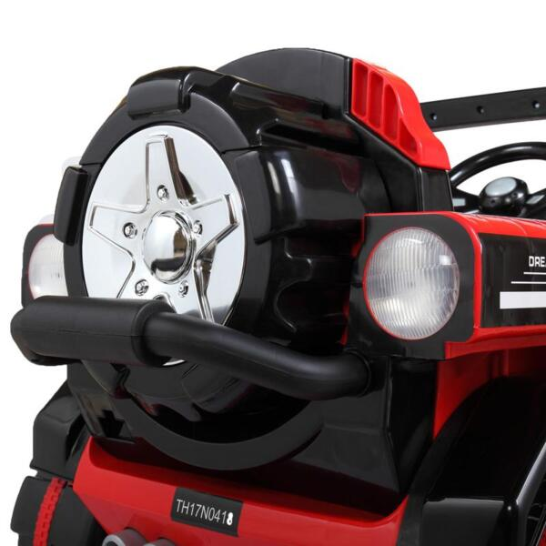 12V Powerful Kids Electric SUV, Red 12v powerful kids electric suv red 27