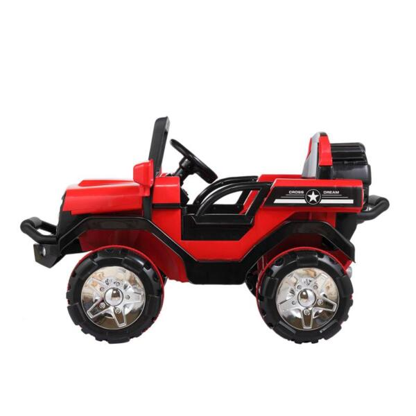 12V Powerful Kids Electric SUV, Red 12v powerful kids electric suv red 7