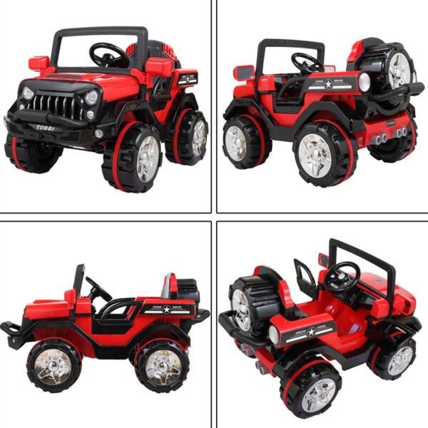 12V Powerful Kids Electric SUV, Red 12v powerful kids electric suv red 9