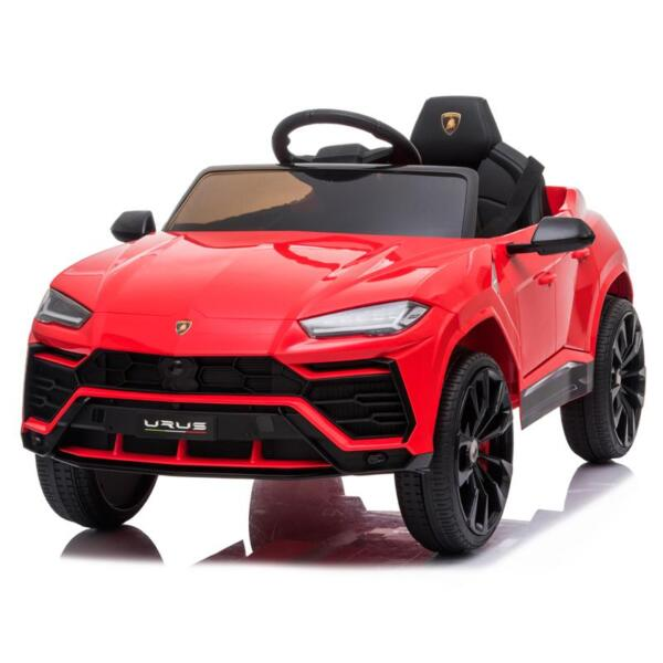 12V Lamborghini Ride On Car With Remote Control, Red 12v remote control kids electric police car red 9 1