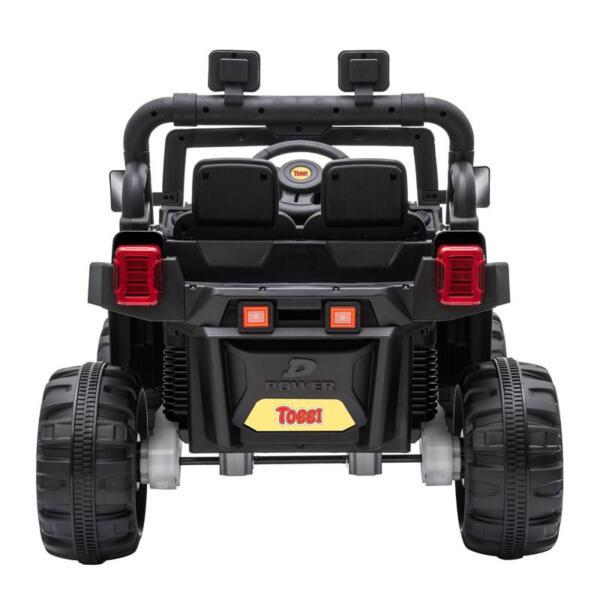 12v Remote Control Kids Ride On Truck, Black 12v remote control kids ride on truck black 4