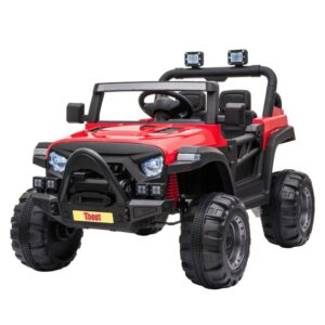 Selling 12v remote control kids ride on truck red 1 best selling on TOBBI