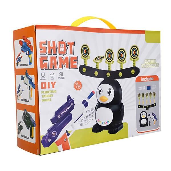 DIY Penguin Shooting Carnival Game 13
