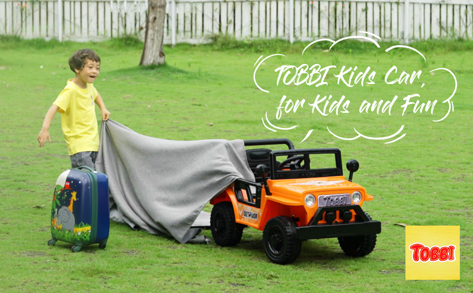 Battery Powered Kid's Car Truck with Double Doors, 12V 15 15