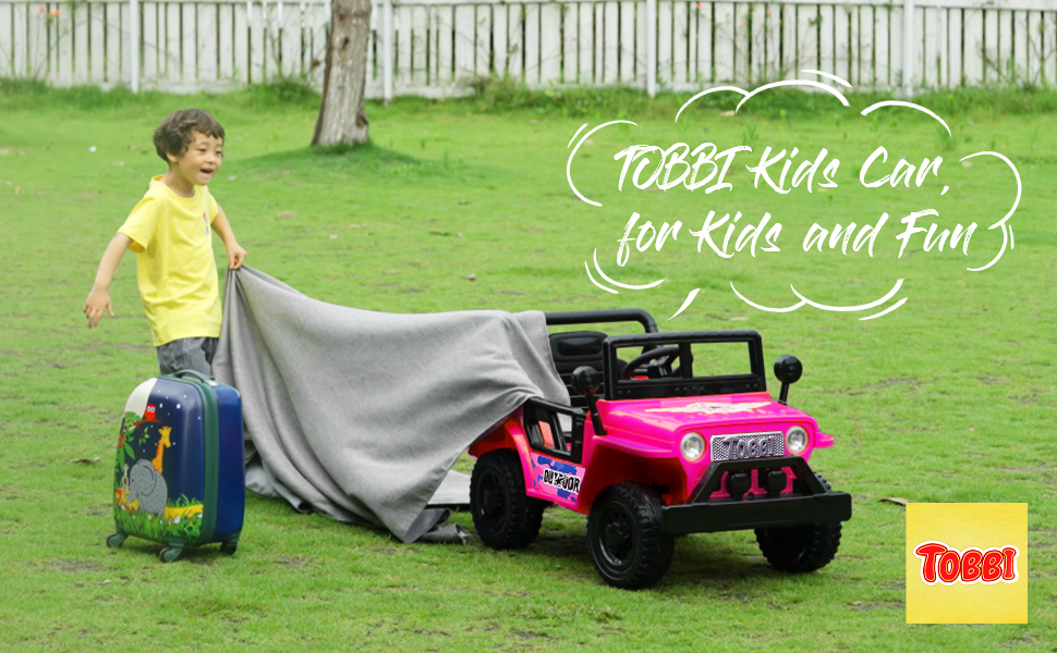 12V Kid's Ride On Truck Off-Road Vehicle W/ Double Doors 2 102