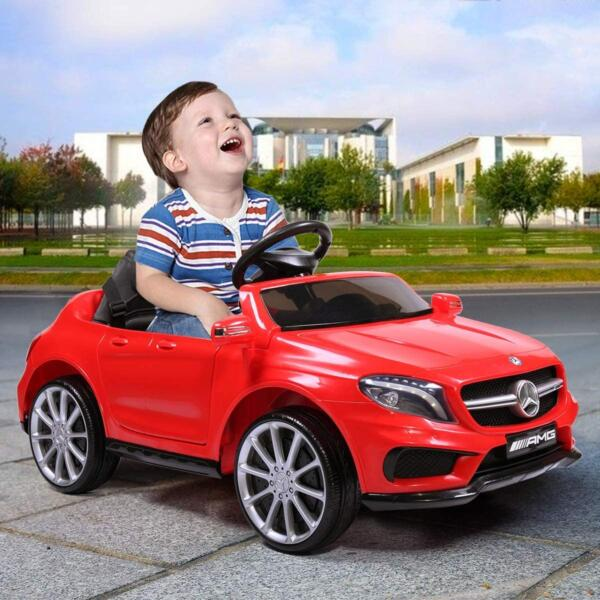 Licensed Mercedes Benz Ride on Car Toy W/RC, Red 2 31