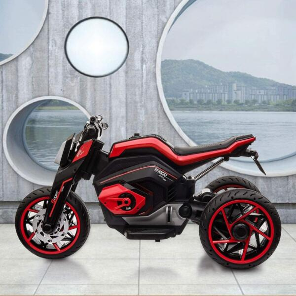 12V Kids Motorcycle Toy 3 Wheels Electric Trike 2 41