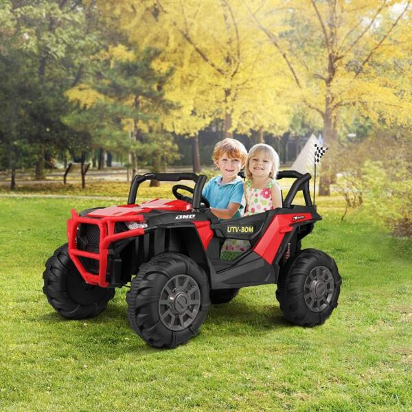 12V Toy Truck Battery Operated Ride-on for Toddlers 2 53