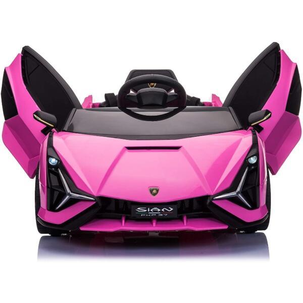 12V Kids Car Licensed Lamborghini Sian with Remote Control for Girls 2 54