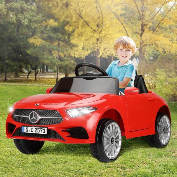 Licensed Mercedes Benz CLS 350 Ride On Car for Kids, Red 2 56