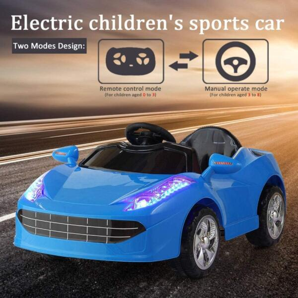 6V Kids Ride-on Sports Car Rechargeable Toy Vehicle 2 61