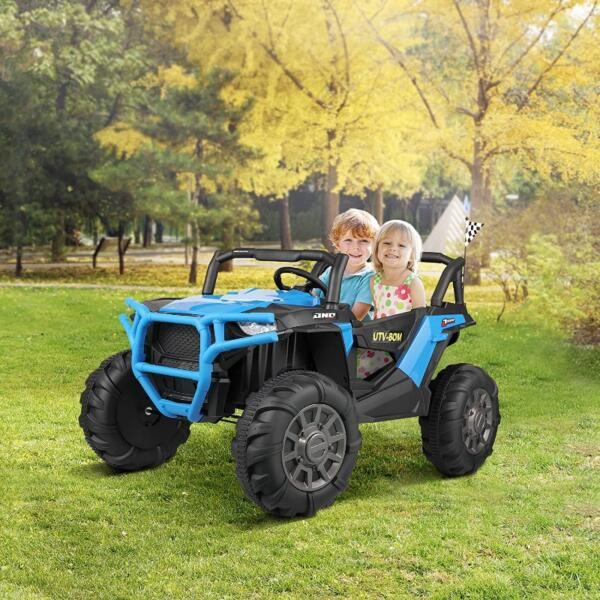 12V Powerful Kids Truck Ride on 2-Seater Battery Car for Child 2 63