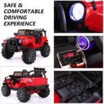 12V Kids Jeep Wrangler Electric Car W/ RC 2222 1