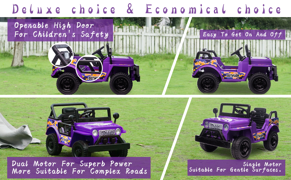 Electric Ride On Truck Toy for Kids with Horn, 12V 28 2