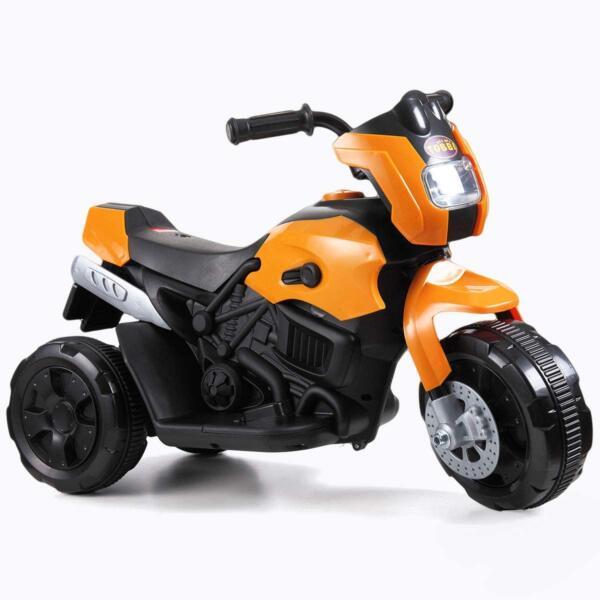 6V Kids Motorcycle Battery Powered Motorcycle for Kids, Orange 3 15