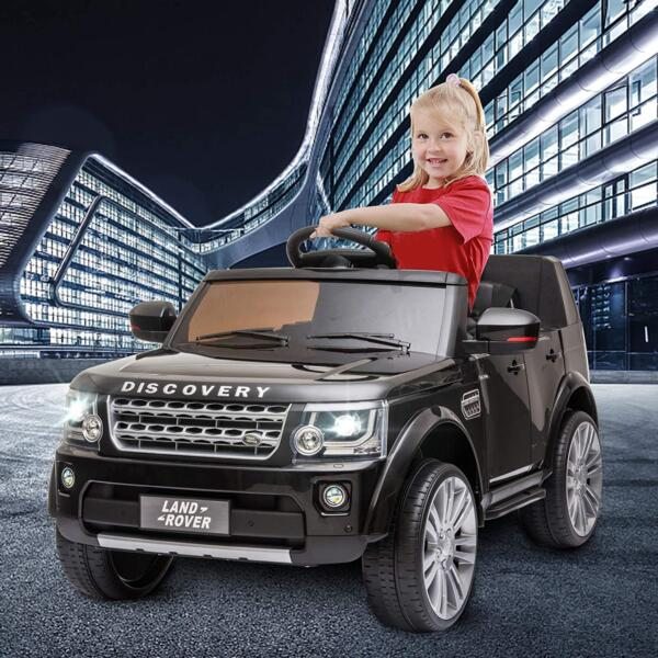 12V Licensed Land Rover Power Wheels Ride on SUV for Kids with Remote Control, Black 3 21