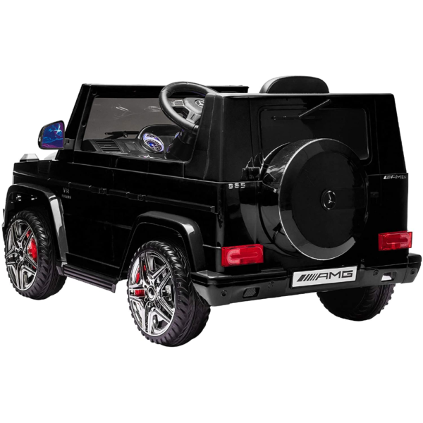 12V Benz AMG G63 Electric Ride On Car for Kids with Remote Control, Black 3 3