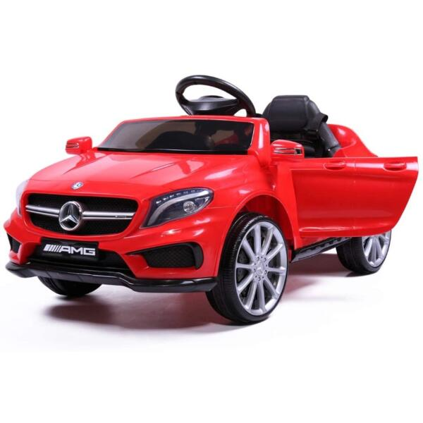 Licensed Mercedes Benz Ride on Car Toy W/RC, Red 3 30