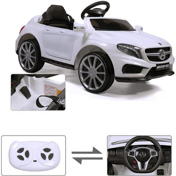 Licensed Mercedes Benz RC Car Toy with Double Doors, White 3 35