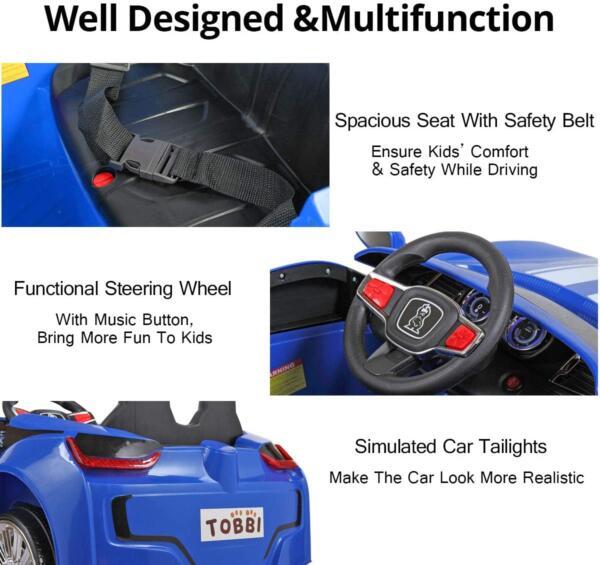 6V Kids Electric car 2 Seater w/ Remote Control 3 36