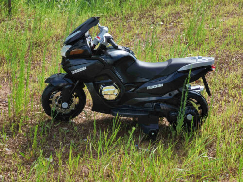 12V Electric Motorcycle for kids, Black photo review
