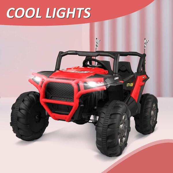 12V Toy Truck Battery Operated Ride-on for Toddlers 3 49