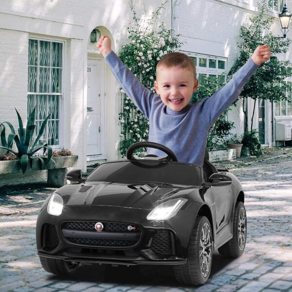 12V Kids Electric Ride on Car Toy Jaguar F-Type SVR 3 59
