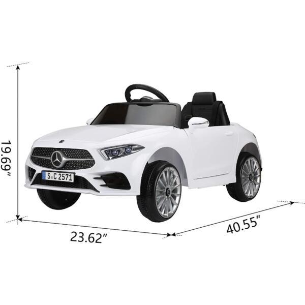12V Electric Car for Kids Licensed Mercedes Benz CLS 350 Ride On Car 3 60