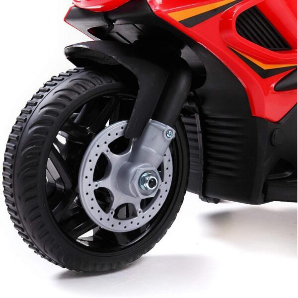 Kids Ride On Electric 4 Wheel Police Motorcycle for 2-4 Years 3 64