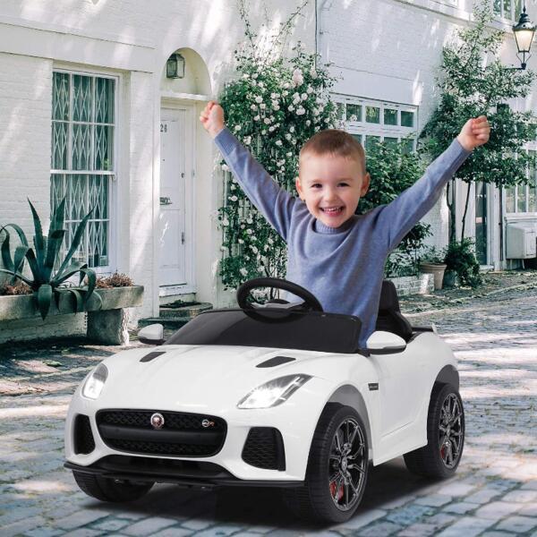 12V Battery Powered Ride-on Jaguar F-Type SVR Car Toy 3 66
