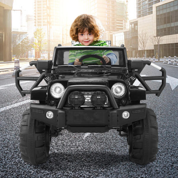 Kid's Truck Toy Ride on Jeep with Remote Control 3 72
