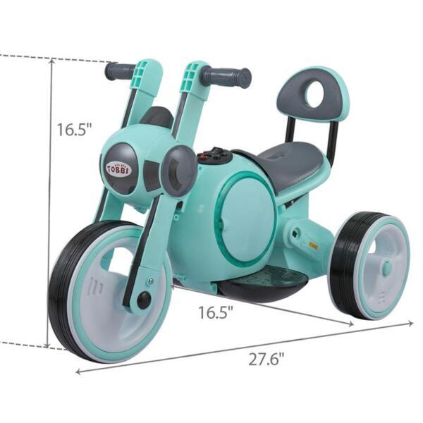 3 Wheel Led Motorcycle Trike for Toddler, Blue 3 wheel led motorcycle trike for toddler blue 17