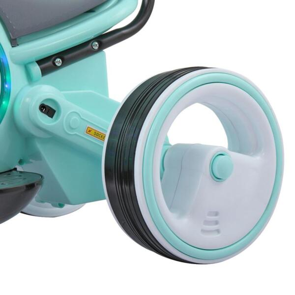 3 Wheel Led Motorcycle Trike for Toddler, Blue 3 wheel led motorcycle trike for toddler blue 22