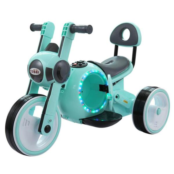 3 Wheel Led Motorcycle Trike for Toddler, Blue 3 wheel led motorcycle trike for toddler blue 4