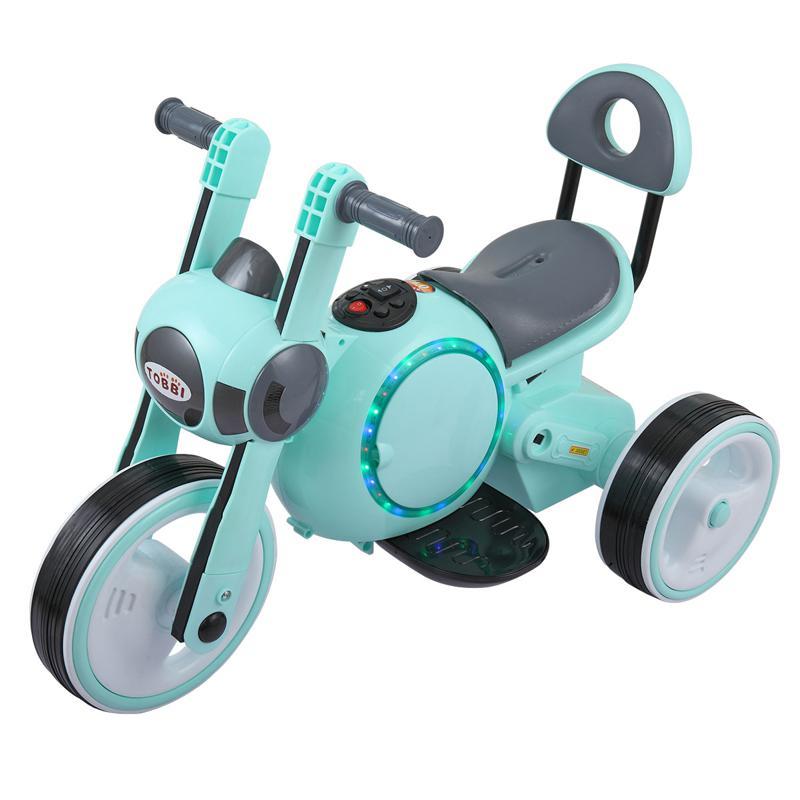 6V Motorcycle Trike for Toddler W/ 3 Wheel 3 wheel led motorcycle trike for toddler blue 6