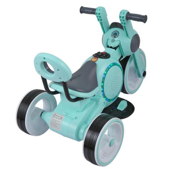 3 Wheel Led Motorcycle Trike for Toddler, Blue 3 wheel led motorcycle trike for toddler blue 7