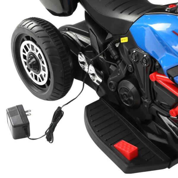 3 Wheel Motorcycle for Kids, Blue 3 wheeled motorcycle blue 21