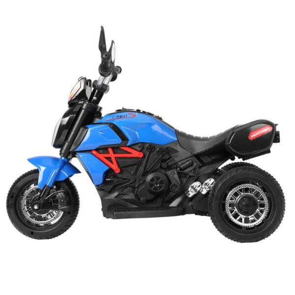 3 Wheel Motorcycle for Kids, Blue 3 wheeled motorcycle blue 3