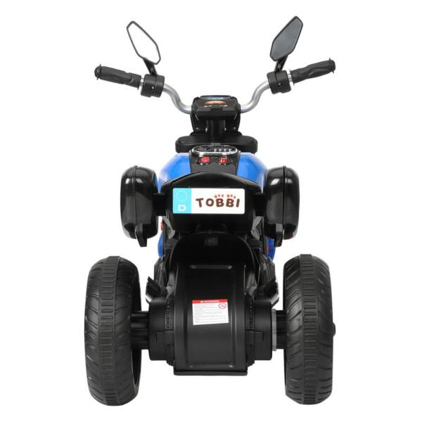 3 Wheel Motorcycle for Kids, Blue 3 wheeled motorcycle blue 5