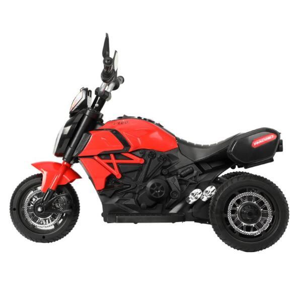 3-Wheeled Motorcycle, Red 3 wheeled motorcycle red 1