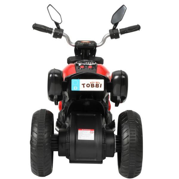 3-Wheeled Motorcycle, Red 3 wheeled motorcycle red 3