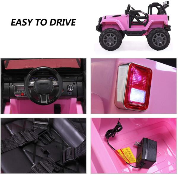 12V Battery Ride on Jeep Truck with 3 Speed 3333