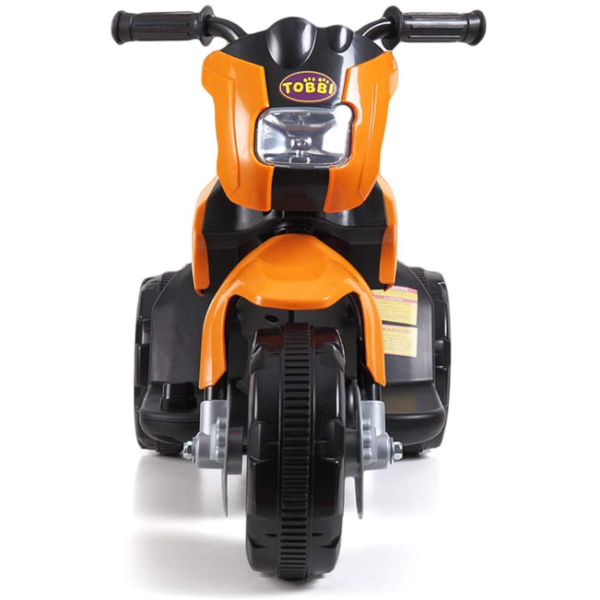 6V Kids Motorcycle Battery Powered Motorcycle for Kids, Orange 4 2
