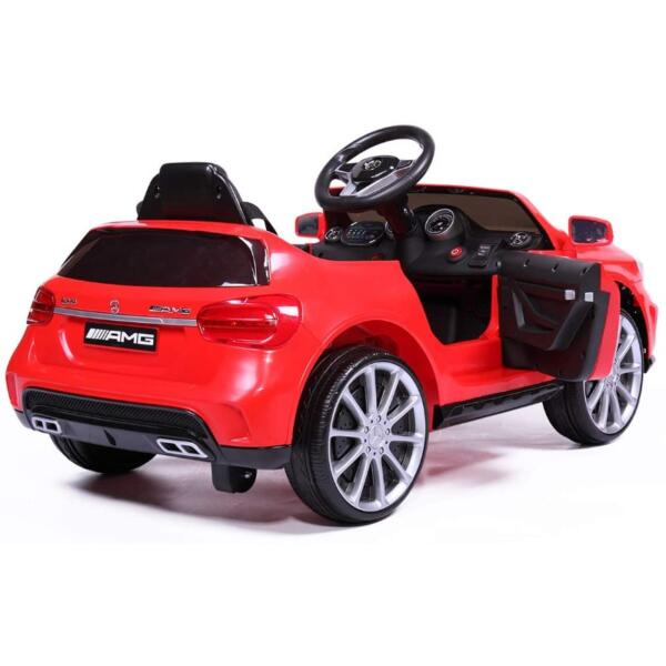 Licensed Mercedes Benz Ride on Car Toy W/RC, Red 4 37