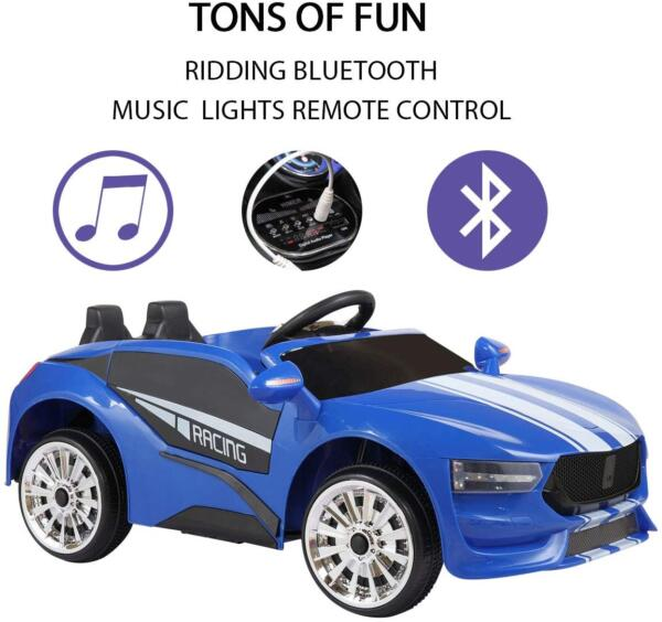 6V Kids Electric car 2 Seater w/ Remote Control 4 44