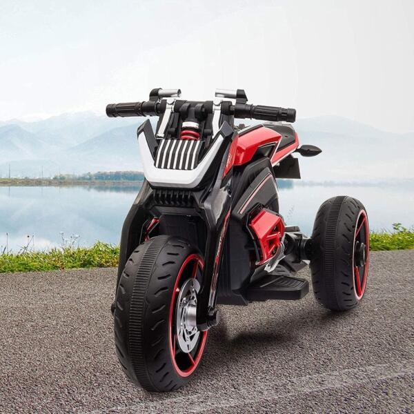 12V Kids Motorcycle Toy 3 Wheels Electric Trike 4 48