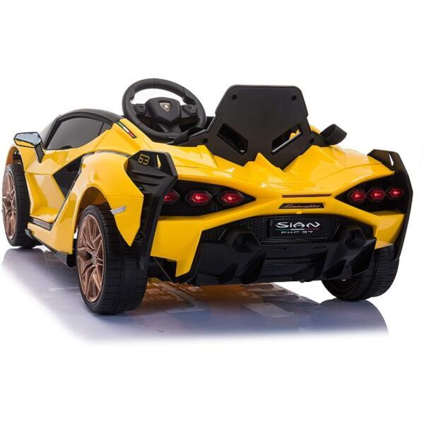 Licensed Lamborghini Sian Car Toy w/ Scissor Door 4 55