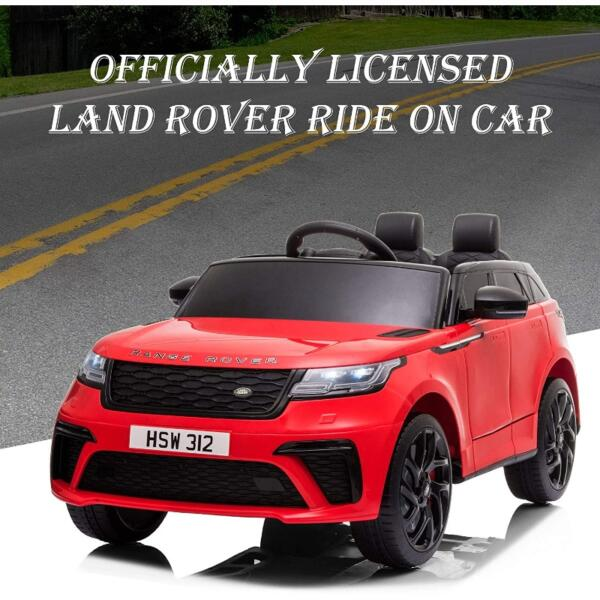 12V Licensed Range Rover Vehicle Ride On Car with Remote 4 74